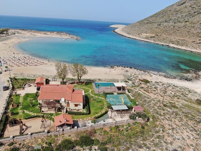 Plage de Stavros, La Canée, Crète, Grèce