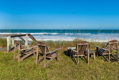 Welcome to Paradise Found Florida Ocean Front 'Old FL' style beach cottage.