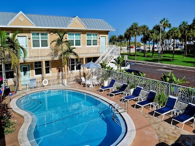 Steps away from the beach!