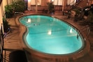 Heated pool, for guests only.