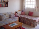 Children's room, sofa bed and single bed