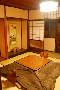 Japanese style living room( very spacious )