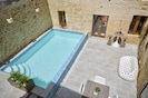 Central courtyard with pool