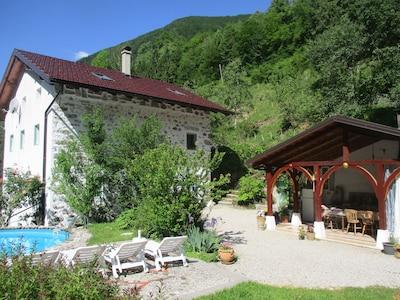 Pri Macku, Large area of Triglav National Park in Slovenija