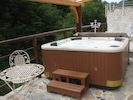 Hot tube open from 28.th April, until 15.th September.