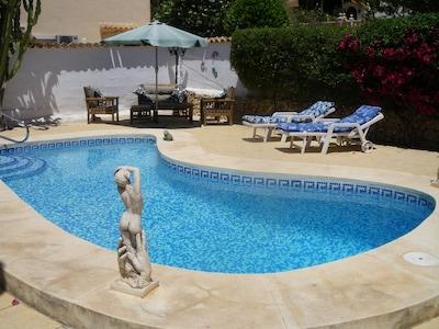 Pool and terracing