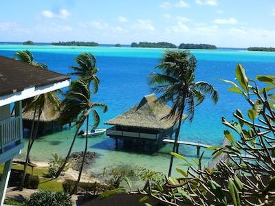 Vaitape Harbor, Bora Bora, French Polynesia