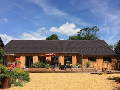 Das Holzhaus mit wunderbarer Atmosphäre (Fewo für 3)
