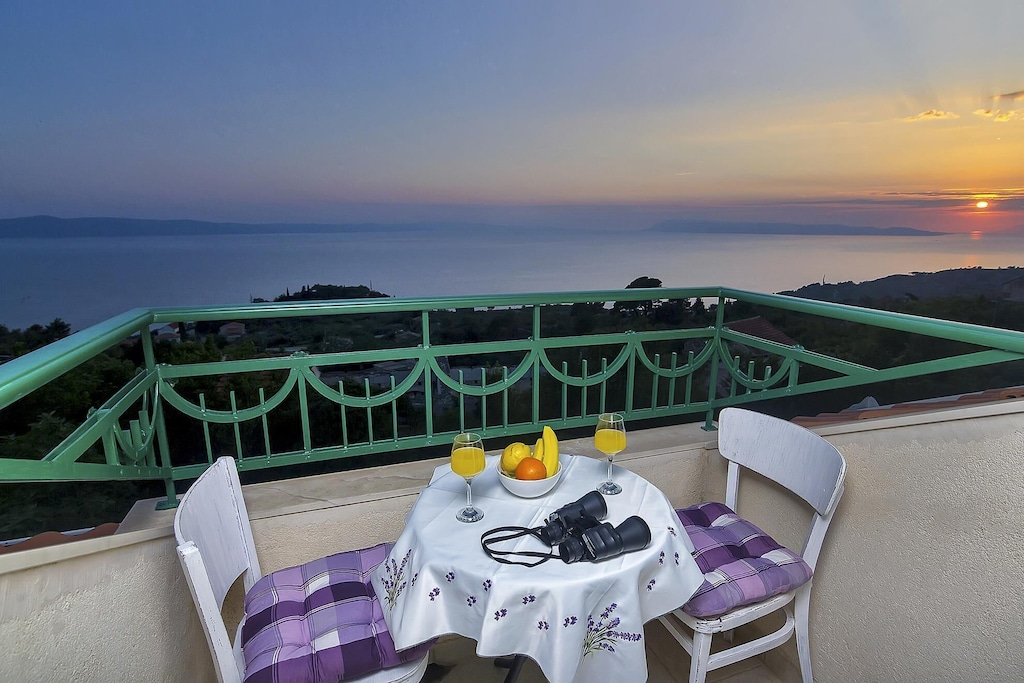 Holiday Villa With Pool And Great View Of The Sea Best Price Guarantee Podgora