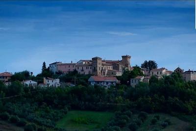 Mosciano Sant'Angelo, Abruzzen, Italien