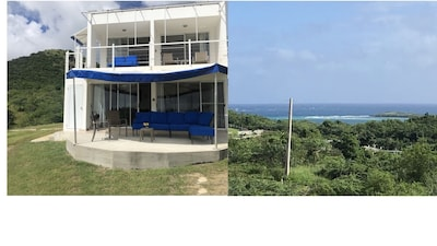Zoni upper Breeze (up stairs condo) with ocean view from patio