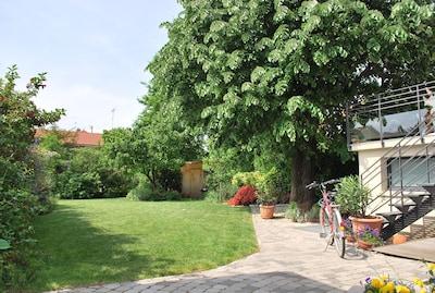 La tranquillité du jardin - dans la ville