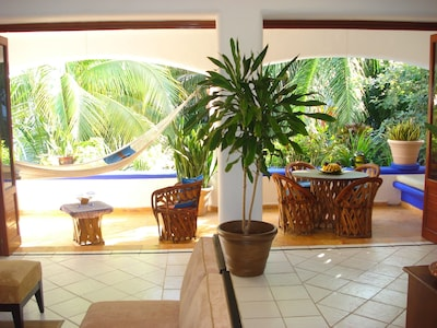 Living Room.Opens To Balcony.