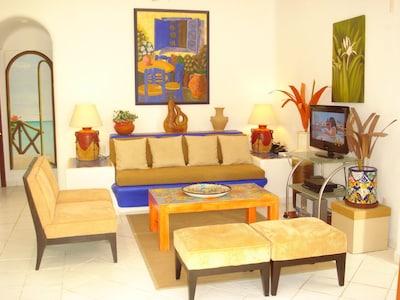 Comfortable Living Room .