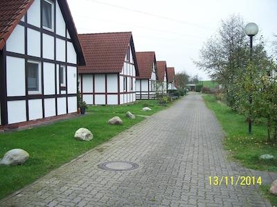 Die Straße zum Haus