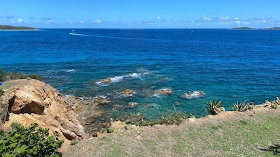 View from the balcony of 20-21... we think it's the best in the Caribbean!
