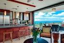 Premium Luxury Beach Villa in corner penthouse location. Private Lanais