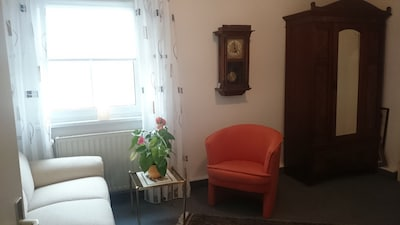 Apartment im Grünen mit herzlicher Gastgeberin
