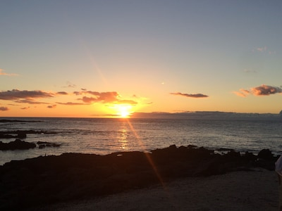 Magnificent sunsets from The Fairmont Hotel or Lava Lava Beach Club restaurants