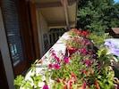 Accès balcon aux deux chambres