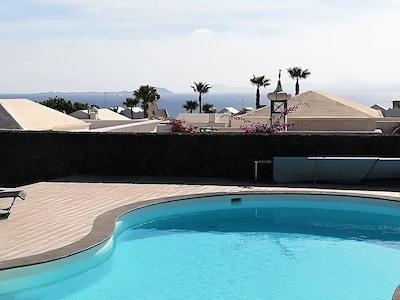 Views of Lobos and Fuerteventura.