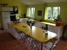 grande pièce à vivre salon/salle à manger