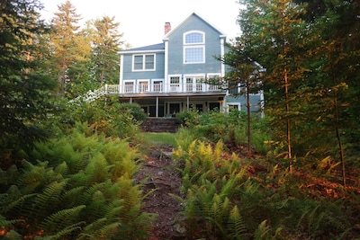 View of house from dock. Spectacular!