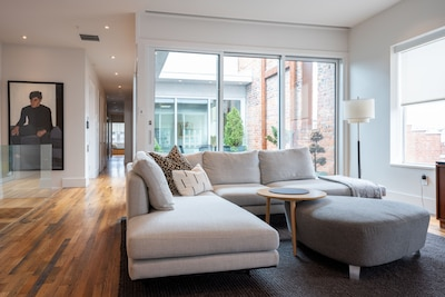 2066 square feet of luxury with a private interior court yard