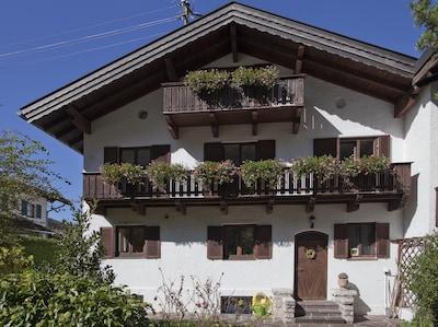 Altstadt (Old Twon) Mittenwald, Mittenwald, Bavaria, Germany