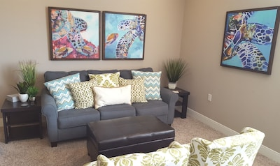 Come Relax in the Comfy Living Room