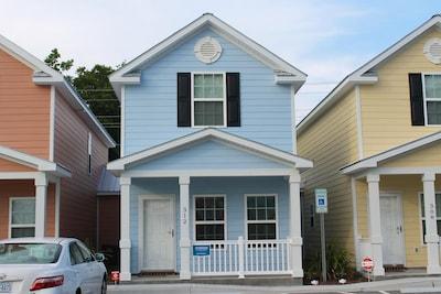 Brand new townhouse front door