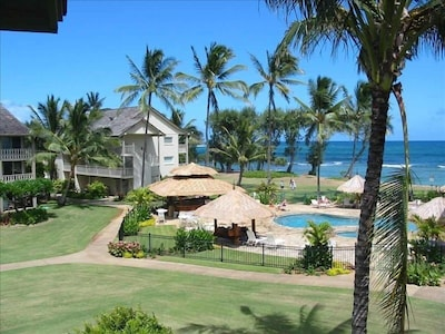 Your GORGEOUS view from the condo. This picture is taken from the lanai.