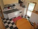 Küche, Blick vom Wohnzimmer