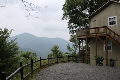 Falcon Ridge in the Summer.