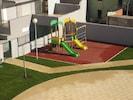 Sicherer Spielbereich für Kinder