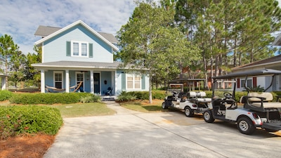 2 Golf Carts w/Rental