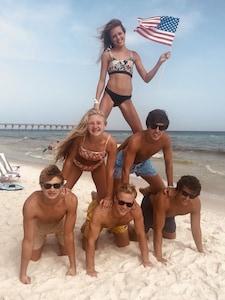 2020 Annual Grandkids Pyramid