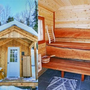 The sauna!!