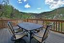 2nd level deck with BBQ and huge views of Deer Valley.