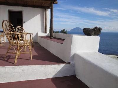 Alicudi, Sizilien, Italien
