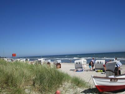 Strandleben im Juni