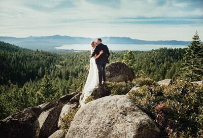 Tahoe Blue Estate Wedding! Photo courtesy of Tiffany Sumner Photography