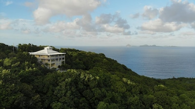 Treetops Villa and the Grenadines