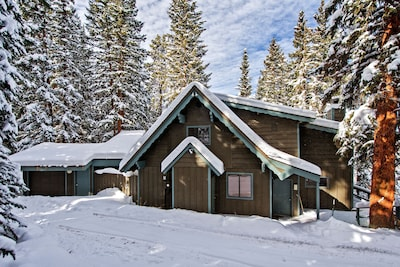 The Locals Call Our Home Forest Haus.  Tucked in the White River National Forest