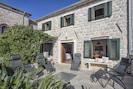Private Terrace at Villa Ruza