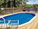 On-site pool open for the summer/hot tub open all year. No need to go elsewhere.