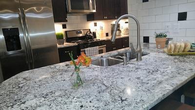 Brazilian marble countertops