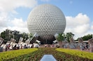 Epcot's iconic Buckminster Fuller ball.