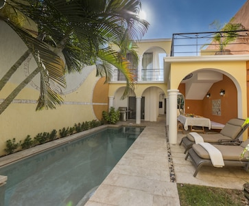 District de Santiago, Mérida, Péninsule du Yucatán, Mexique