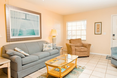 """"""" I highly recommend this condo to anyone with a family. It is in a perfect quiet community, and surrounded by many beaches you can visit."""" - Breeona, *****"""